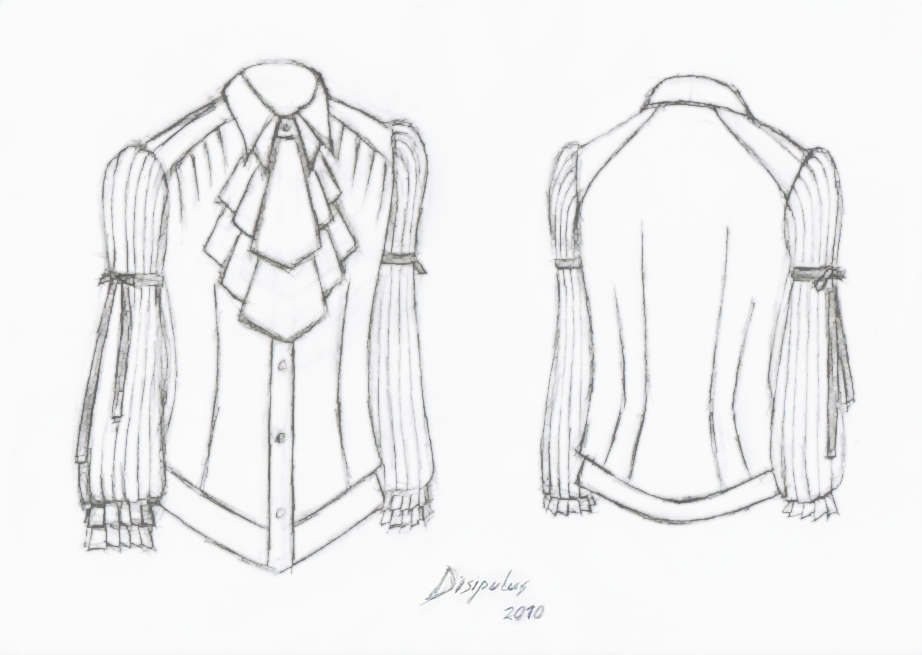 Blouse Drawing And Cutting 89