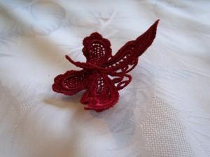 Reinforced butterfly lace
