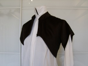The Slanted Jacket, opened, front