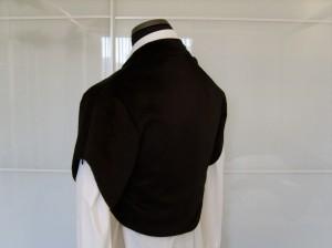 The Slanted Jacket, closed, back