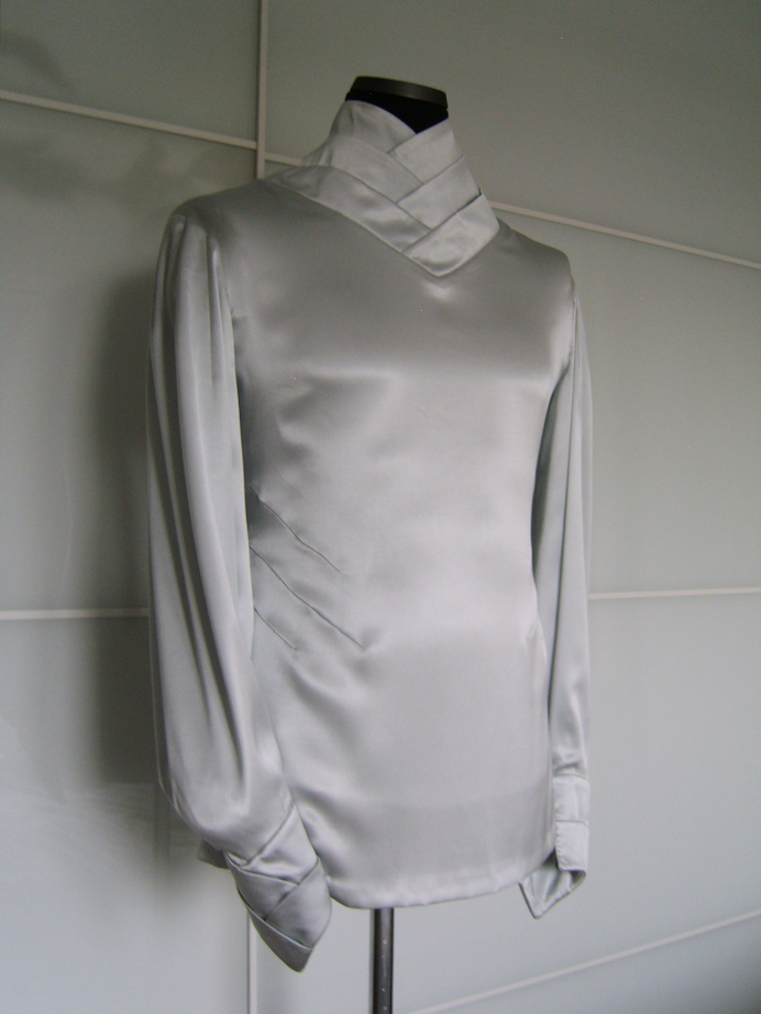The Gray Blouse front