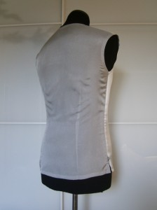 Silver Undershirt back