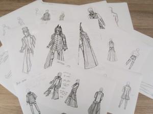 2012's rough sketches