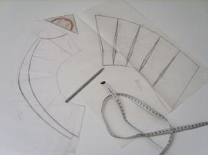 Capeline pattern, Collar pattern