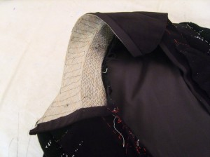 Marquis Coat Horse-Hair Collar interfacing