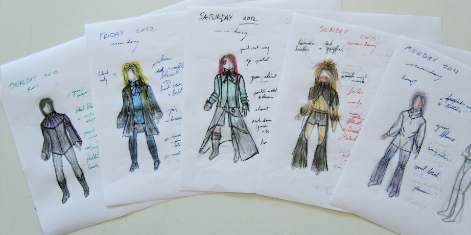 WGT 2012 Secondary Outfits
