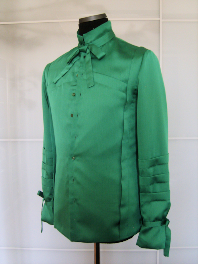 The Green Shirt front