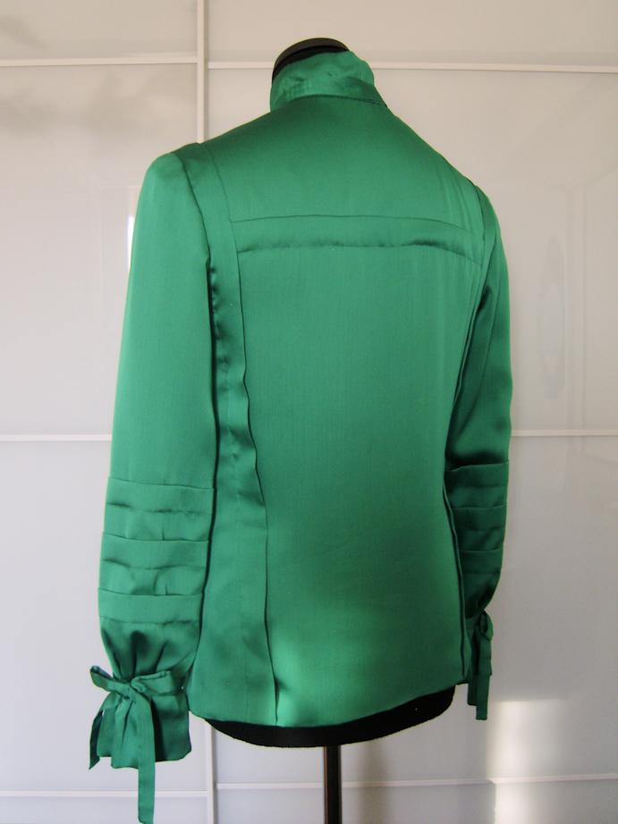 The Green Shirt back