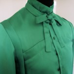 The Green Shirt closure detail