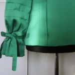 The Green Shirt cuff detail