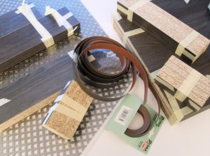 Pressed Wood, Finishing Tape, and Steel Grating