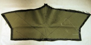 Cape Under-collar Interfacing