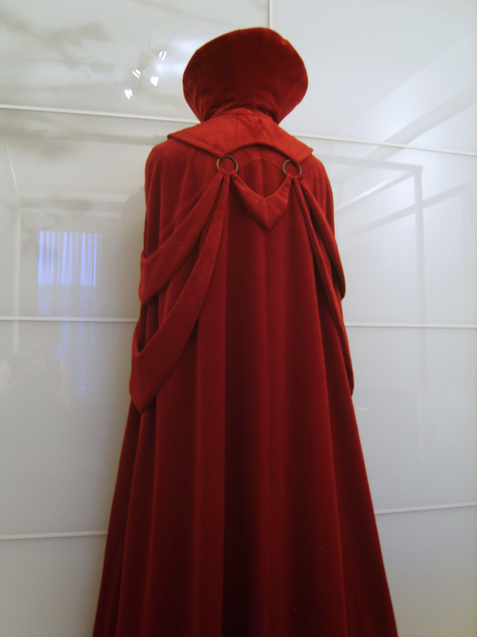 Scarlet Velvet Dracula Bondage Cape back view