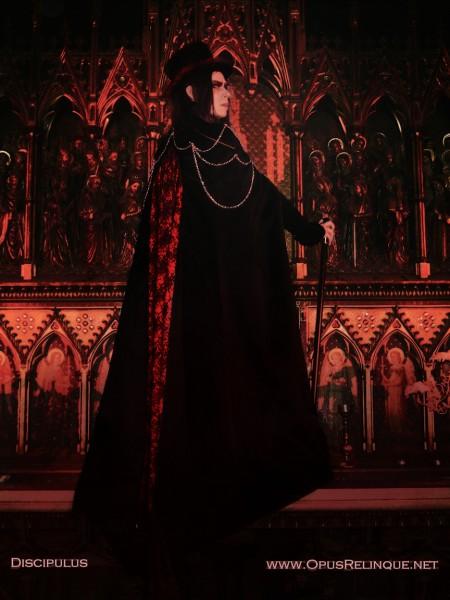 Opus Relinque Discipulus, Gothic Vampire Outfit, Danse Macabre, Gala Nocturna Ghent, Viona Art