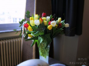 Opus Relinque: Tulips and Vase