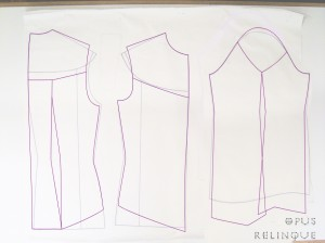 gothic tailored blouse pattern