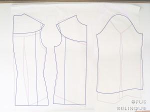 gothic ruffle blouse pattern
