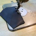 stitching on 6 oz leather