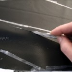 how to cut a thick leather hide