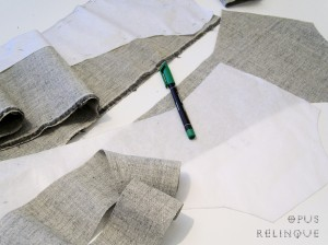Soft canvas interfacing for coats and vests.