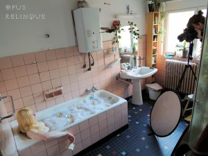 Bathtub Photgraph by Veerle Frissen