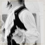 Discipulus in white Elegant Gothic Aritocrat look, 2011
