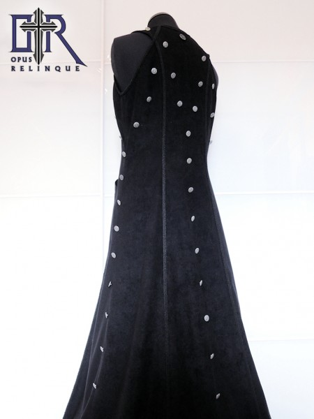 men's sleeveless gothic coat
